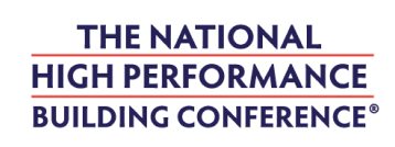 The National High Performance Building Conference branding